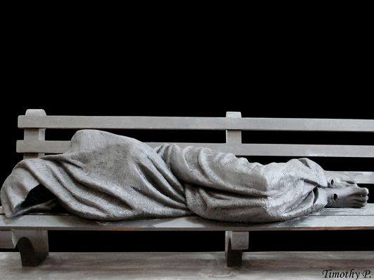 Help us give a home to the Homeless Jesus