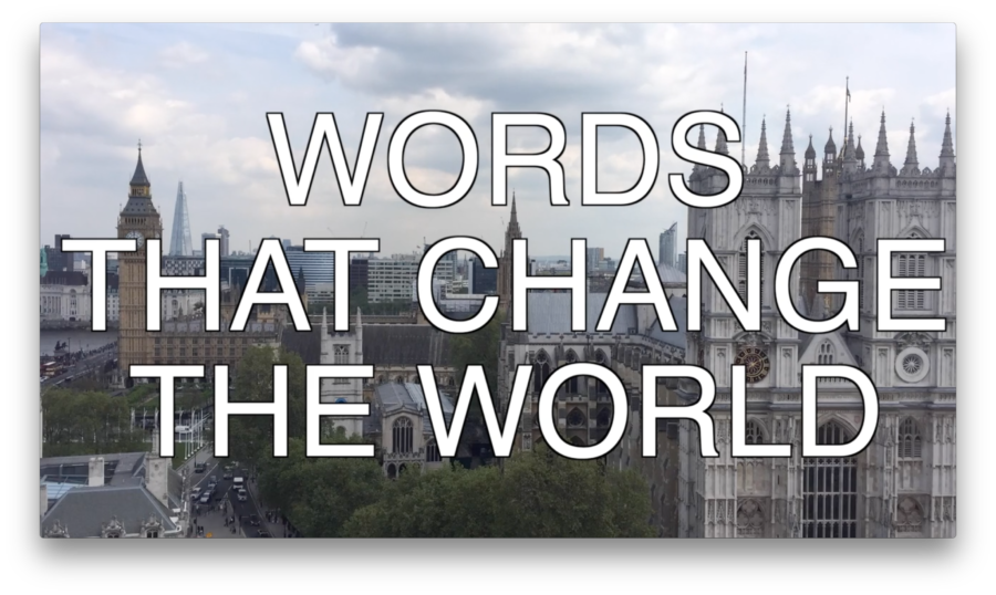 #MCHWVERSE – Words That Change the World