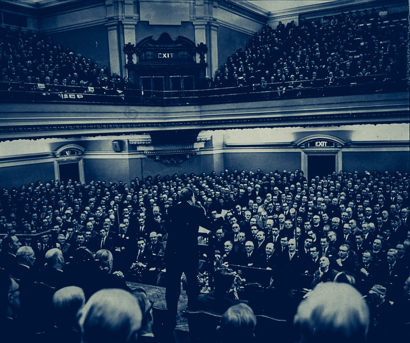 Billy Graham at Methodist Central Hall