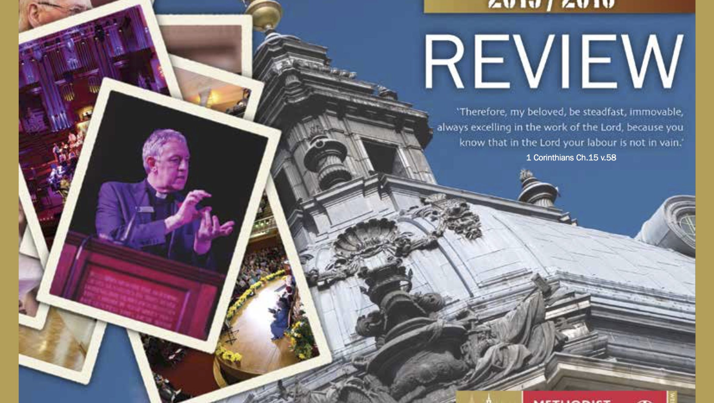Methodist Central Hall, Westminster – Annual Review