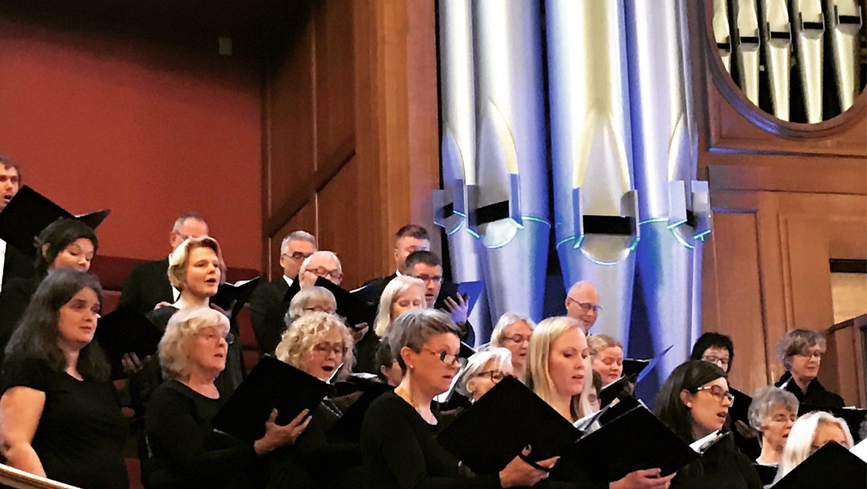 Trondheim Choirs Visit Methodist Central Hall