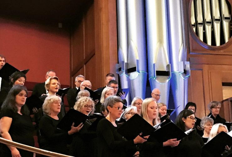 Trondheim Choirs Visit Methodist Central Hall