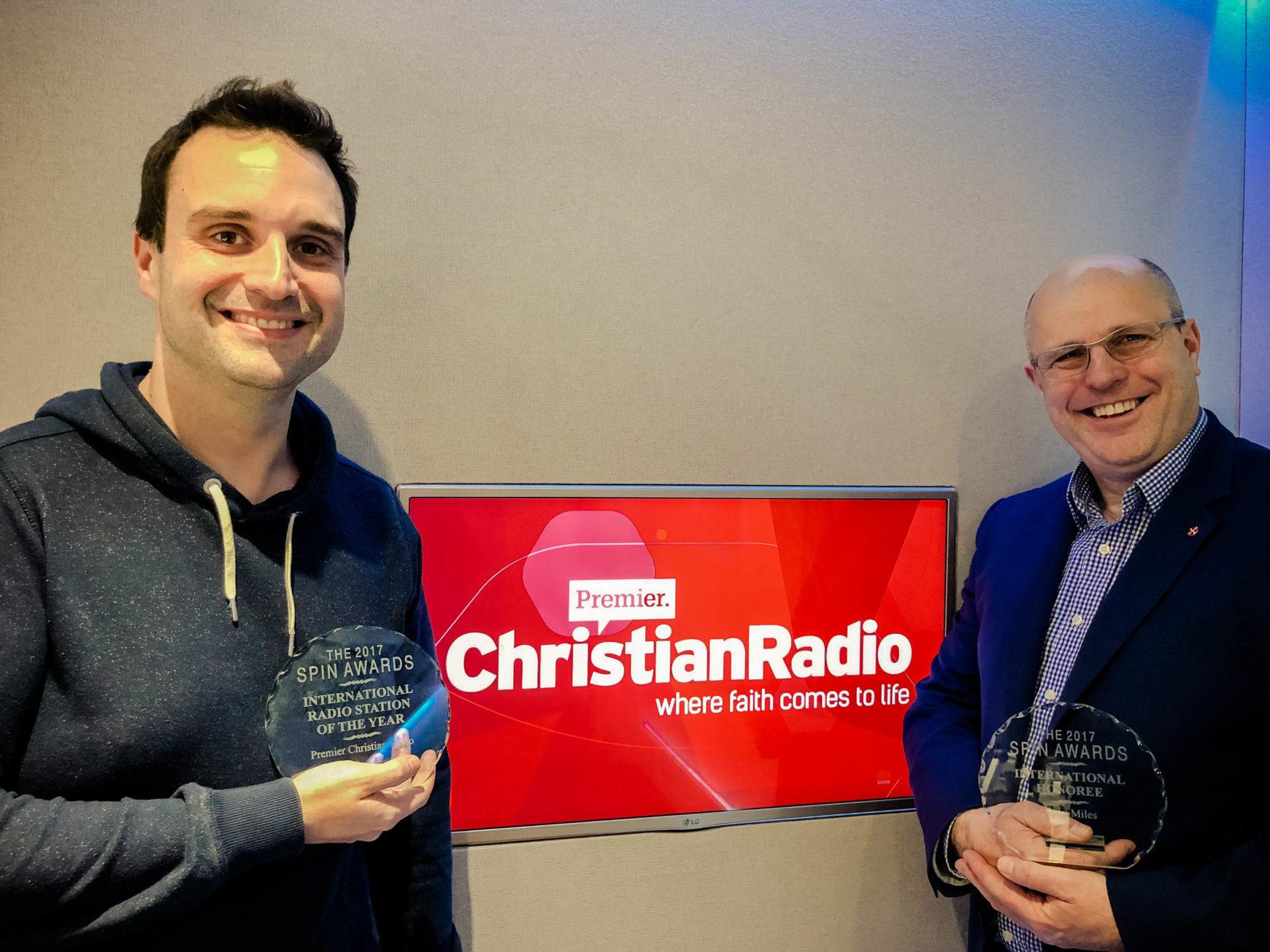Revd Tony Miles Scoops International Award