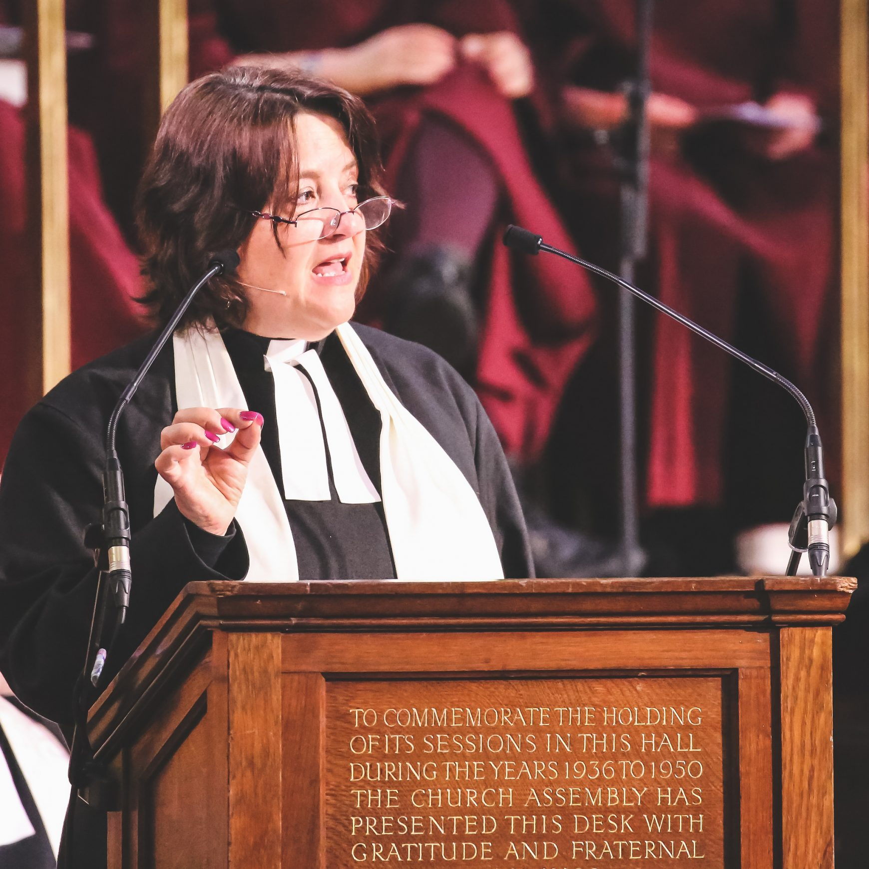 New President of Conference, 'Radical Grace'