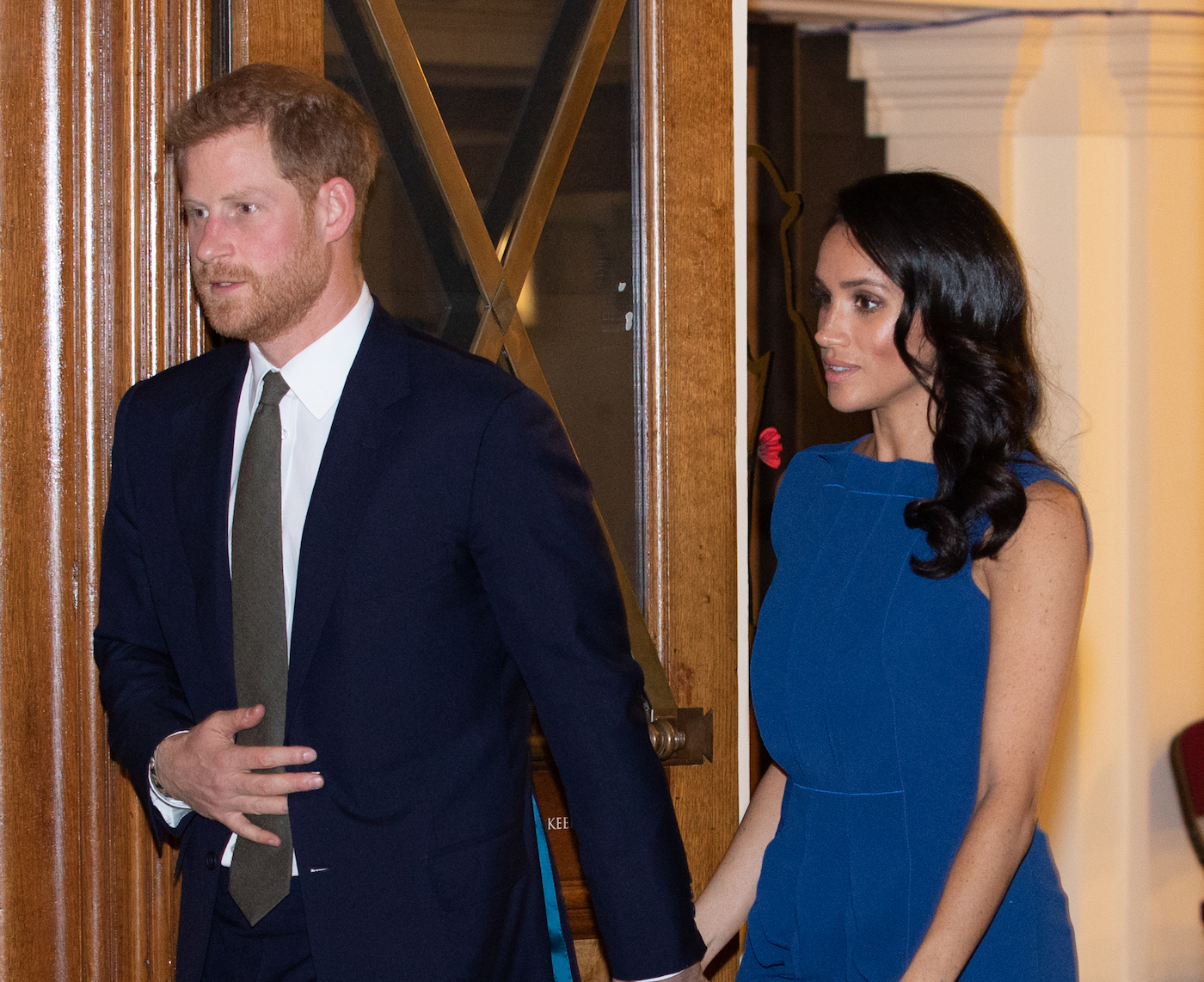 Duke and Duchess of Sussex at Methodist Central Hall