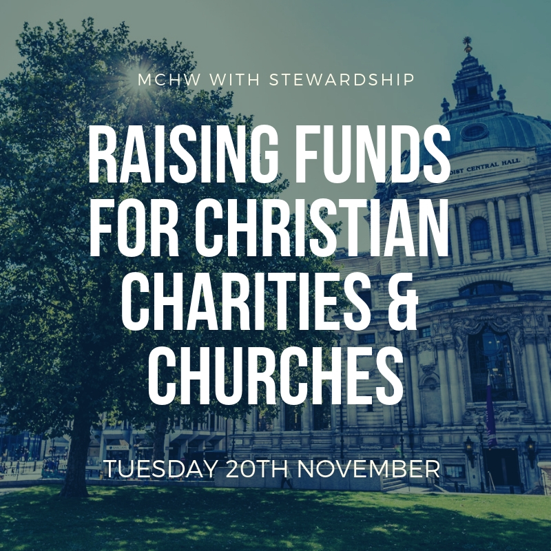 Raising funds for Christian Charities and Churches – A One-Day Conference