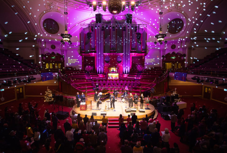 Jazz Carols at Methodist Central Hall Westminster