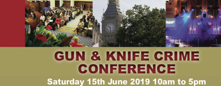 Gun & Knife Crime Conference at Methodist Central Hall