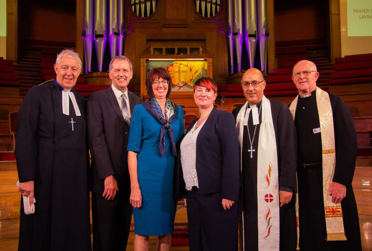 Vice President of Conference visits Methodist Central Hall