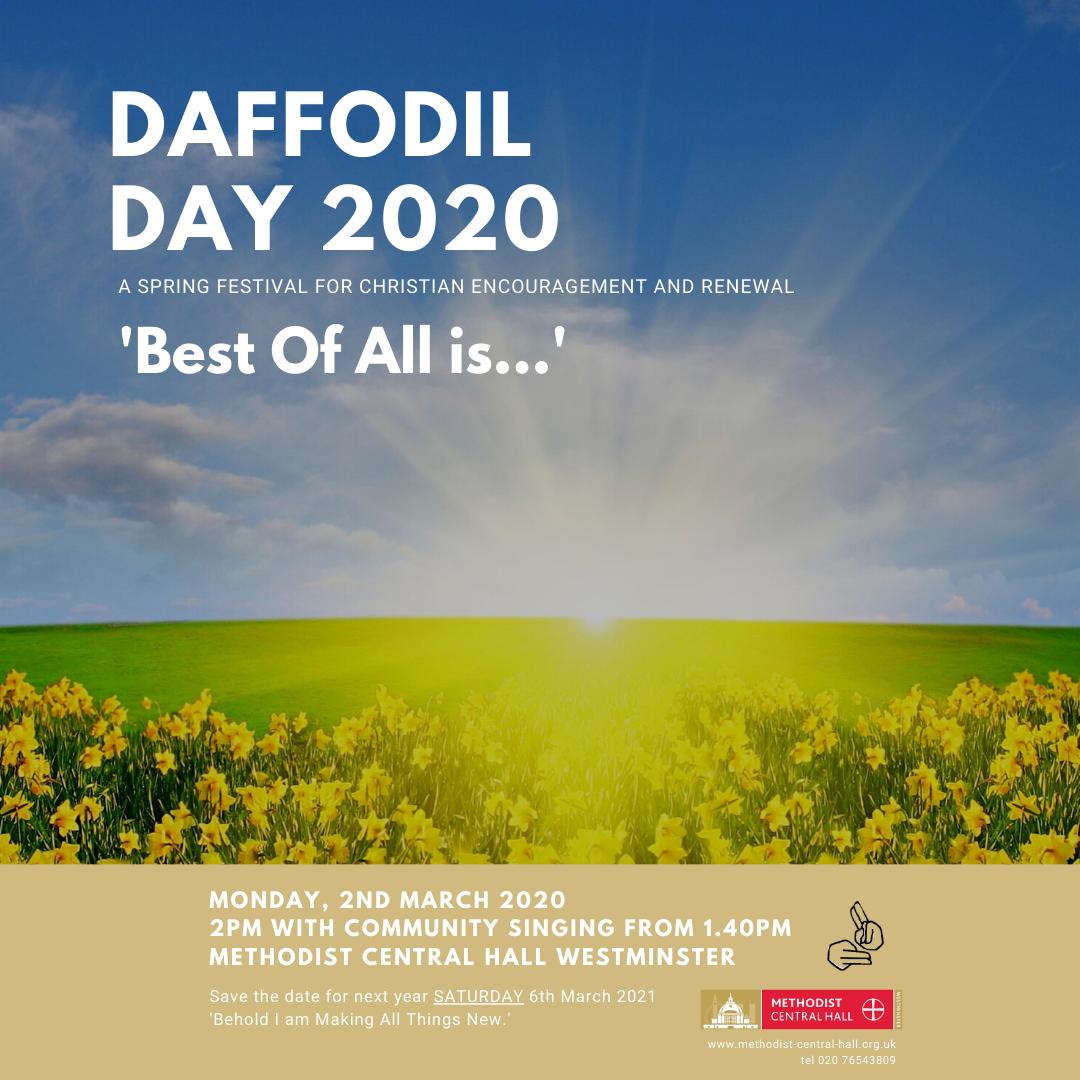 Daffodil Day 2020 – Update