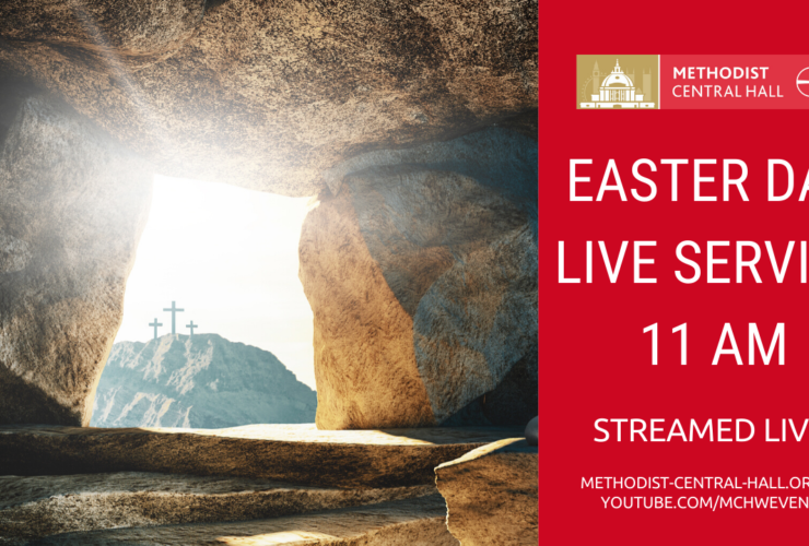 Easter Day Live Stream Service – 11am 12th April 2020