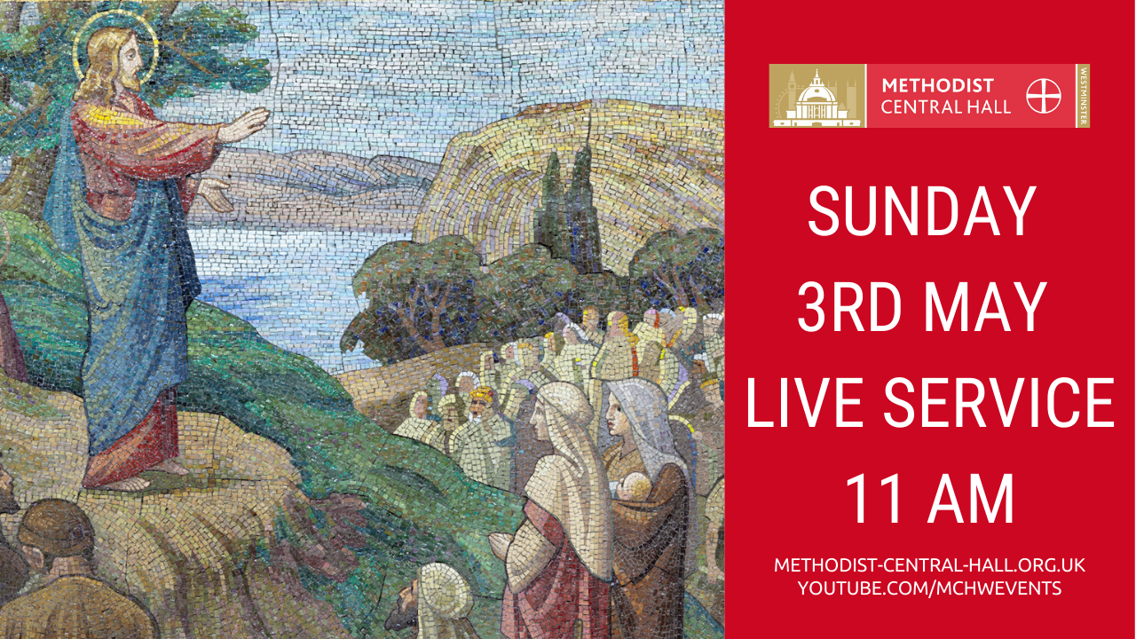 Sunday 3rd May – Live Stream Service