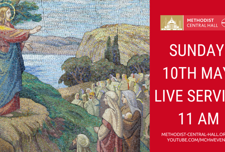 Sunday, 10th May – Live Streamed Service